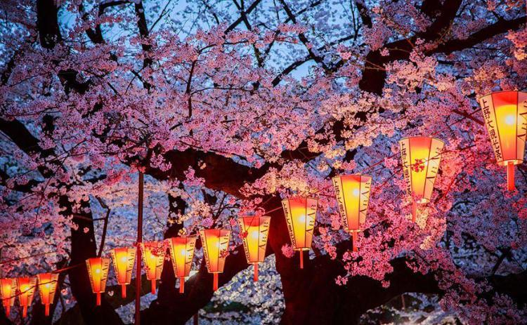 Vesennie prazdniki Japonija