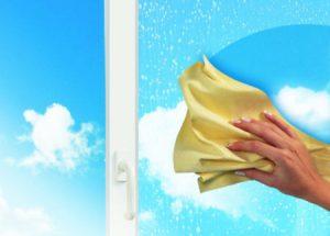 как правильно вымыть окно