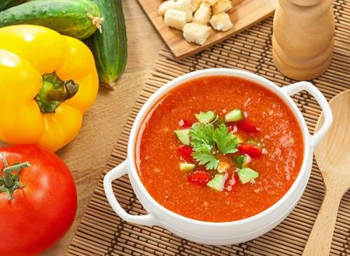 Ispanskij holodnyj sup gaspacho
