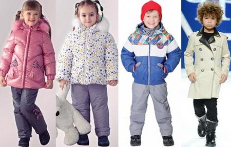 Zimnjaja odezhda dlja detej ot treh let