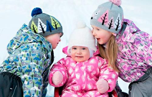 Zimnjaja odezhda dlja malysha polutora – dvuh let