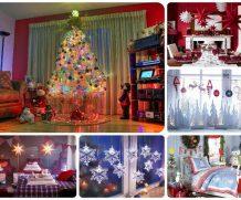 Как просто украсить дом к Новому году