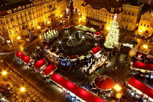 Novyj god v Prage