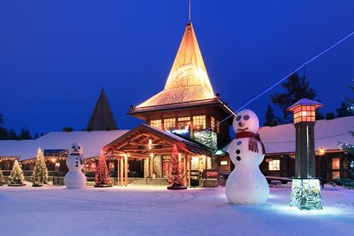 v gosti k Dedu Morozu v Laplandiju